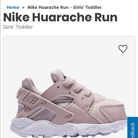 ee1a77e33a8e Nike Huarache sneaker soft rose pink Gently Used. M 5ca2b254c953d80cf713a522